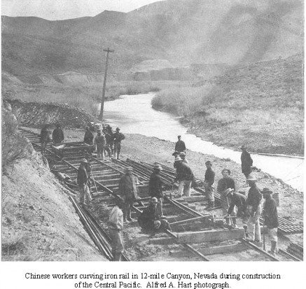 an introduction to the history of the laborers on the transcontinental railroad The transcontinental railroad was a significant event in american history this railroad was the work of two railroad companies, the union pacific and the.